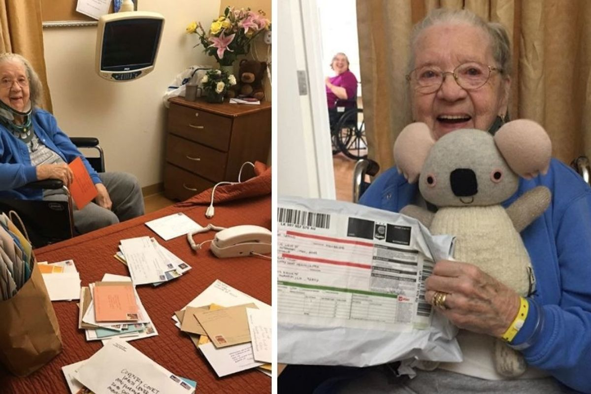 Upworthy readers send over 1,500 letters and gifts to 90-yr-old 'Grandma Florence'