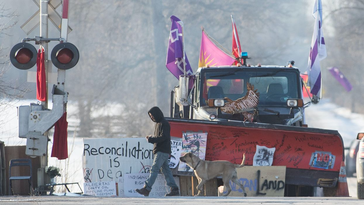 Canadian Police Break up Indigenous Solidarity Blockade, Arrest 10