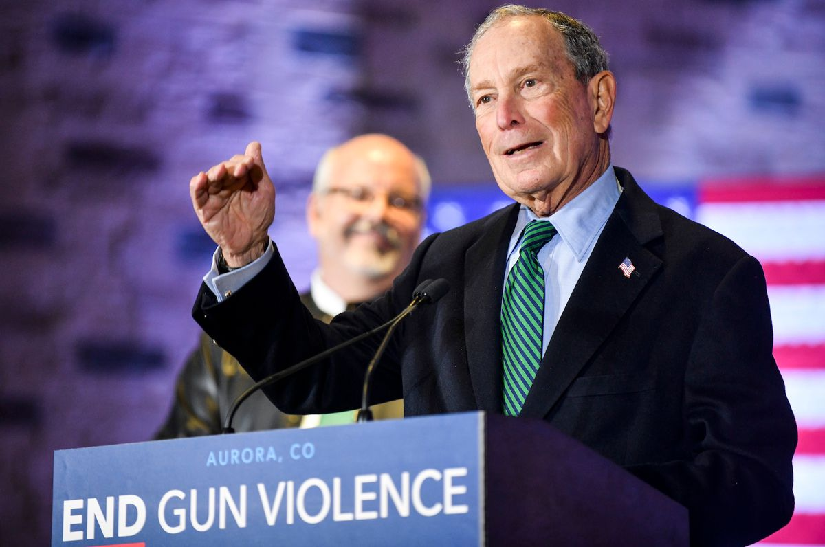 Michael Bloomberg attacks Bernie Sanders' record on gun control ahead of SC debate: 'Beholden to the gun lobby'