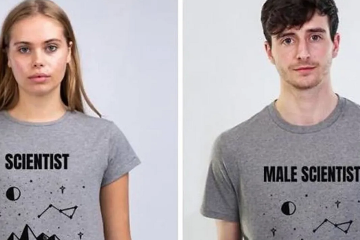 Man exposes the absurdity of sexist marketing by creating shirts that label men like we do women