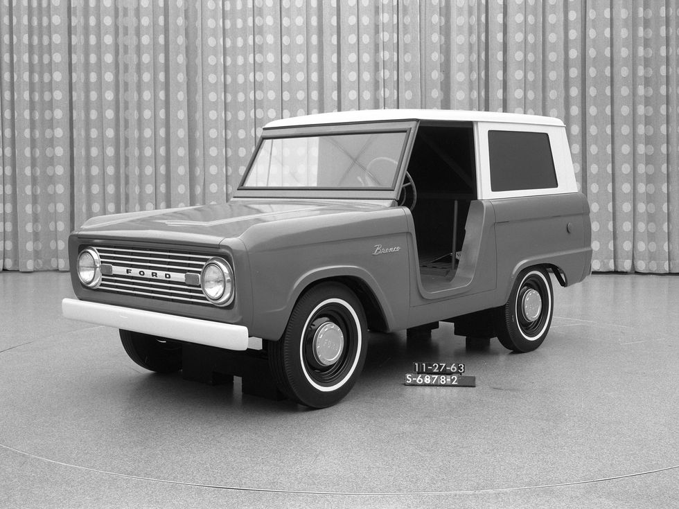 1963 Ford Bronco prototype