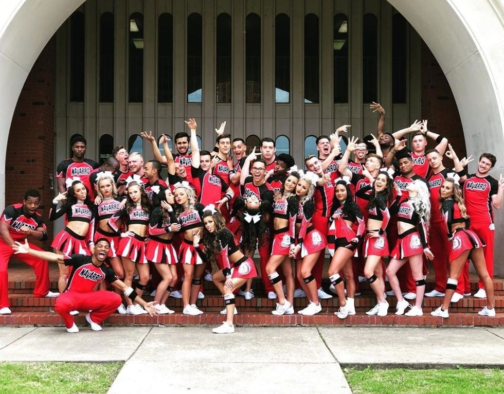 I May Not Be A Cheerleader, But I Would Flip For A Chance To Be On The Navarro Cheer Team
