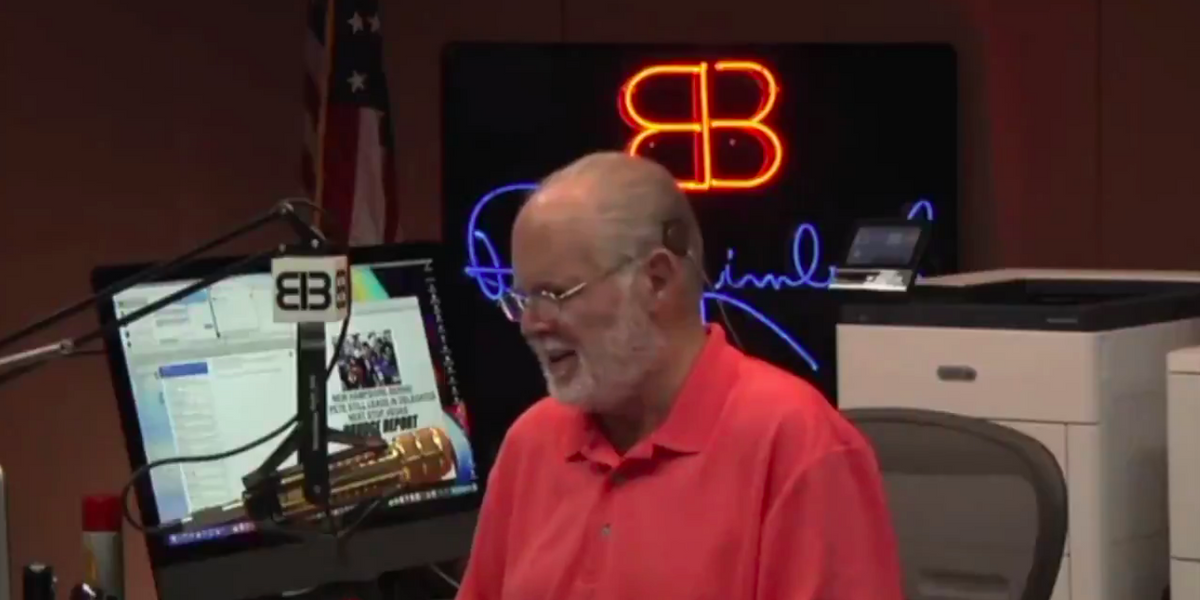 Video: Rush Limbaugh is moved to tears by caller who offers to donate one of his lungs to him