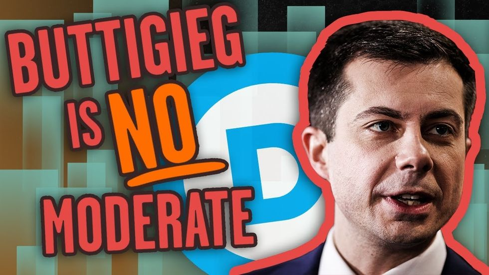 image for EX-MAYOR PETE: Buttigieg is a lot of things but MODERATE is not one