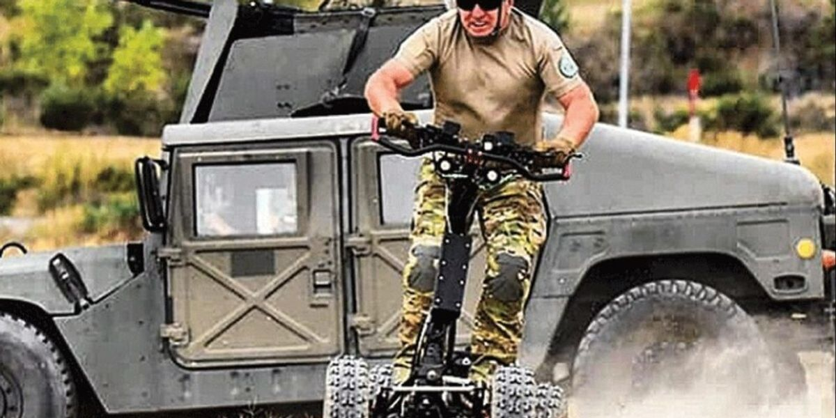 The Army is testing an ATV that looks like a tactical Segway