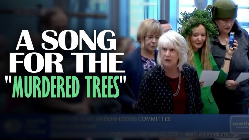 image for SEATTLE CITY COUNCIL GOES CRAZY: Citizens create, sing song to murdered ...