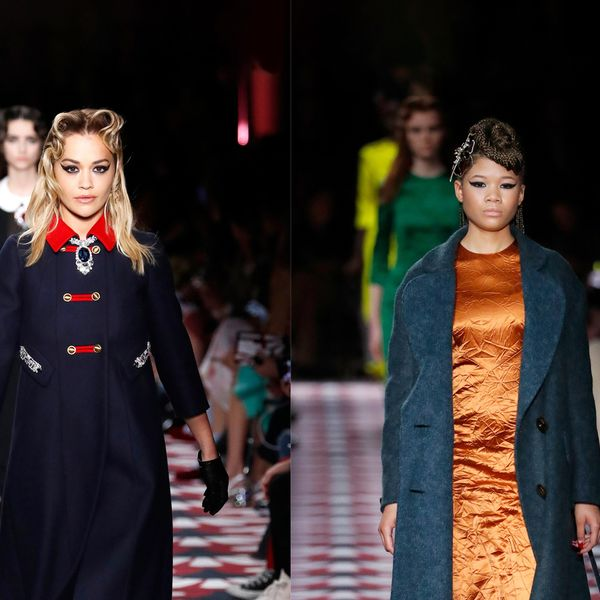 Rita Ora and Storm Reid Walk Their First Miu Miu Show