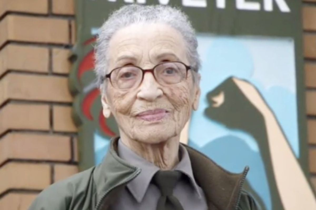 98-yr-old Betty Reid Soskin is America's oldest park ranger and an inspiration for us all