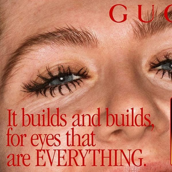 Gucci Wants You to Clump Your Mascara