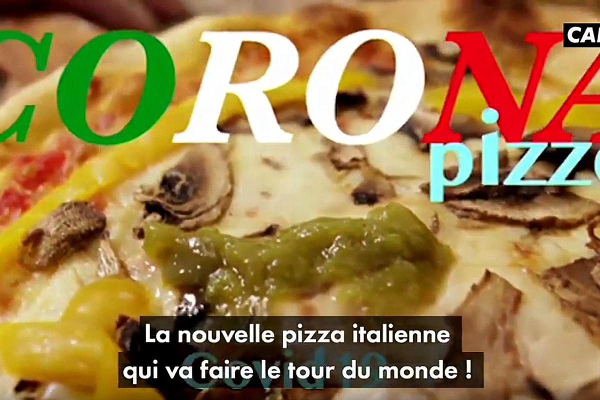 I francesi ci sfottono con la pizza alla tosse e starnuto