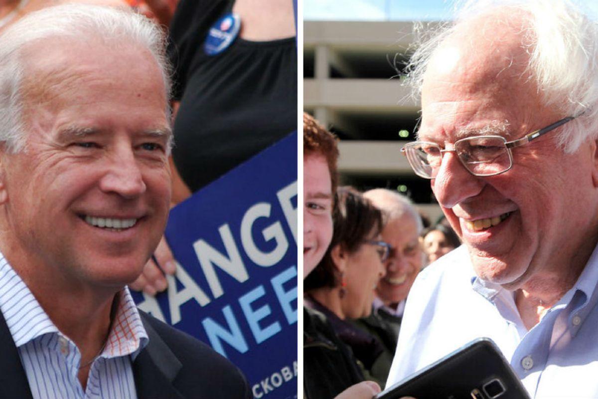 Biden and Bernie race to Super Tuesday showdown