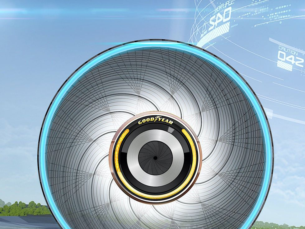 Goodyear ReCharge tire concept