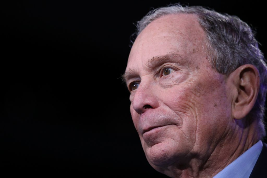 Bloomberg spent .4 million for exactly one delegate in Virginia and North Carolina