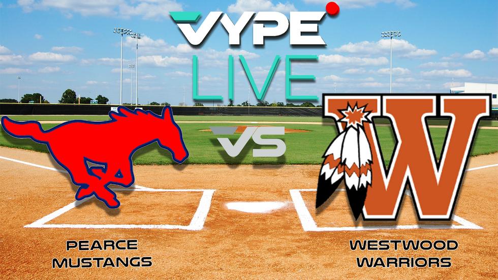 Vype Live High School Baseball Pearce Vs Westwood Vype