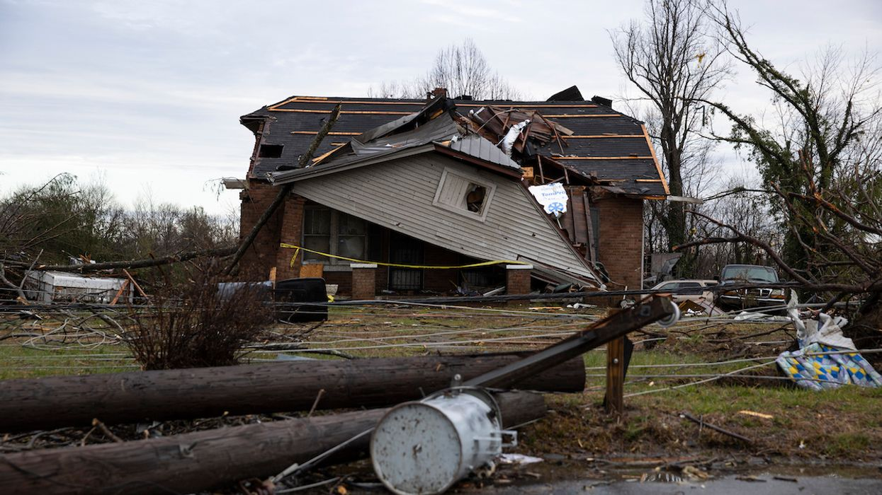 At Least 25 Dead as Tornadoes Devastate Tennessee