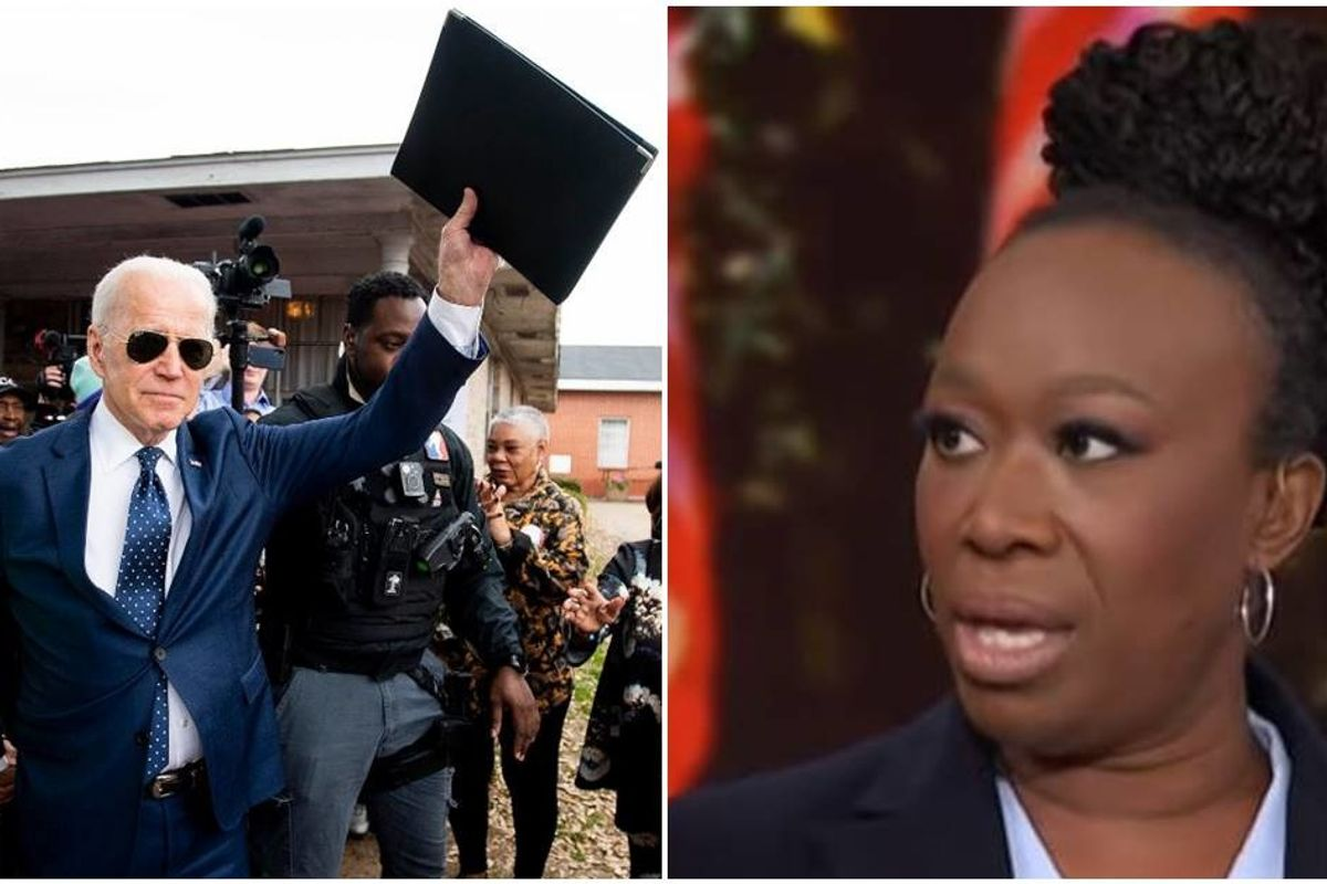 Joy Reid's powerful remarks about Biden's reception at a black church show exactly why he won big