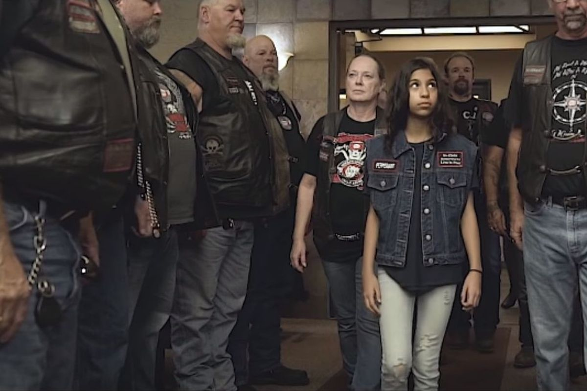 Badass bikers show up for abused children, offering advocacy and protection