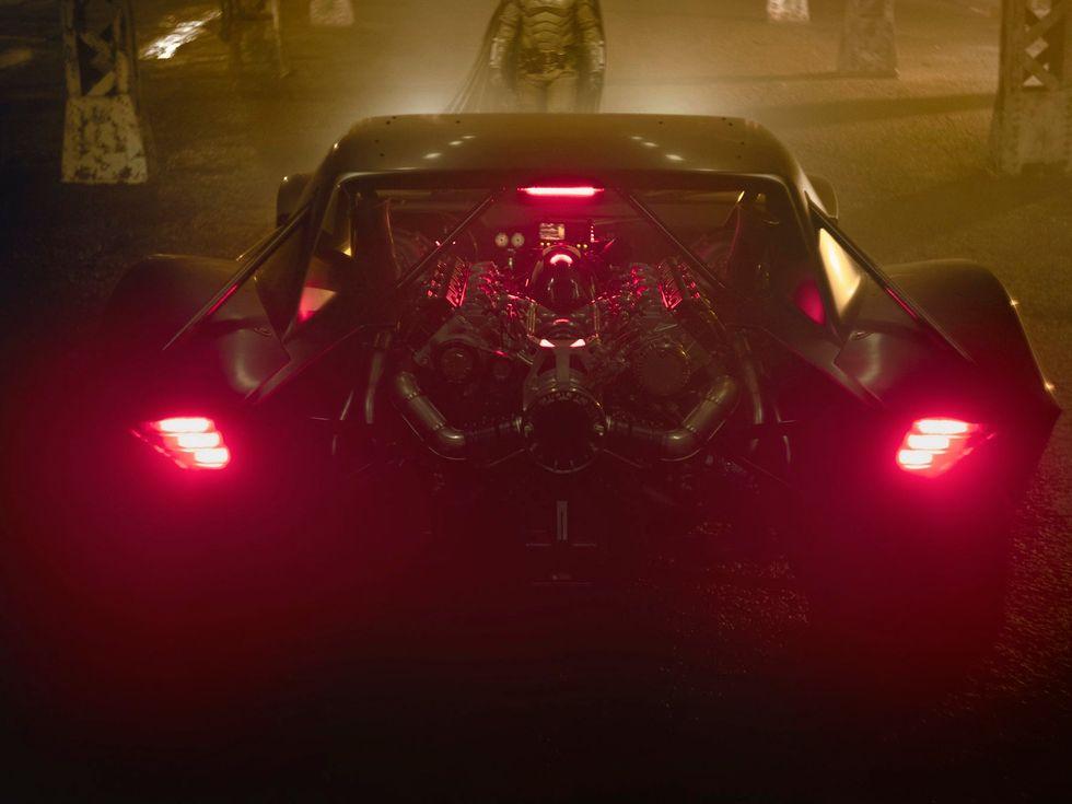 The Batman Batmobile movie new 2020 film