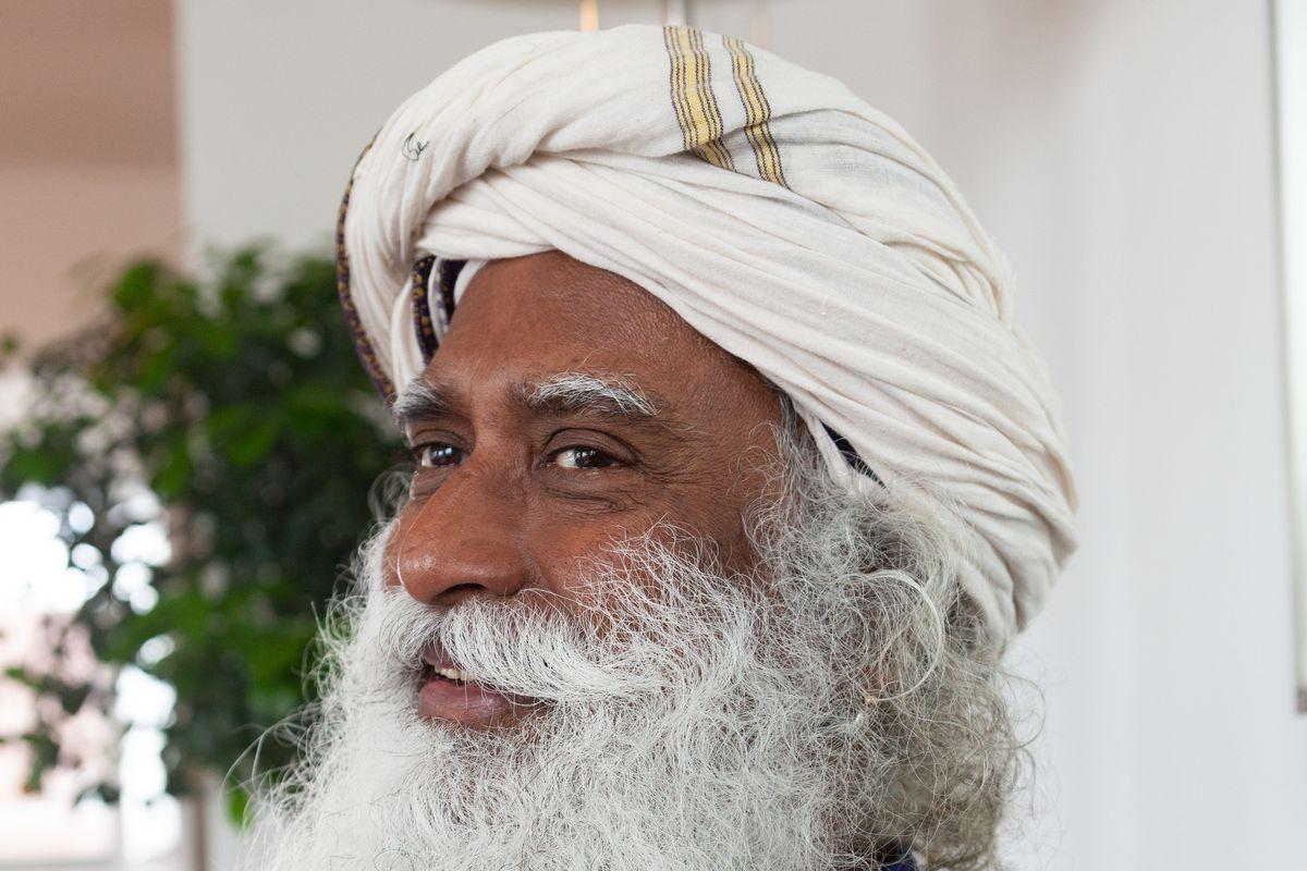 Rockstar Guru Sadhguru Tells Us How to Live a Joyful Life