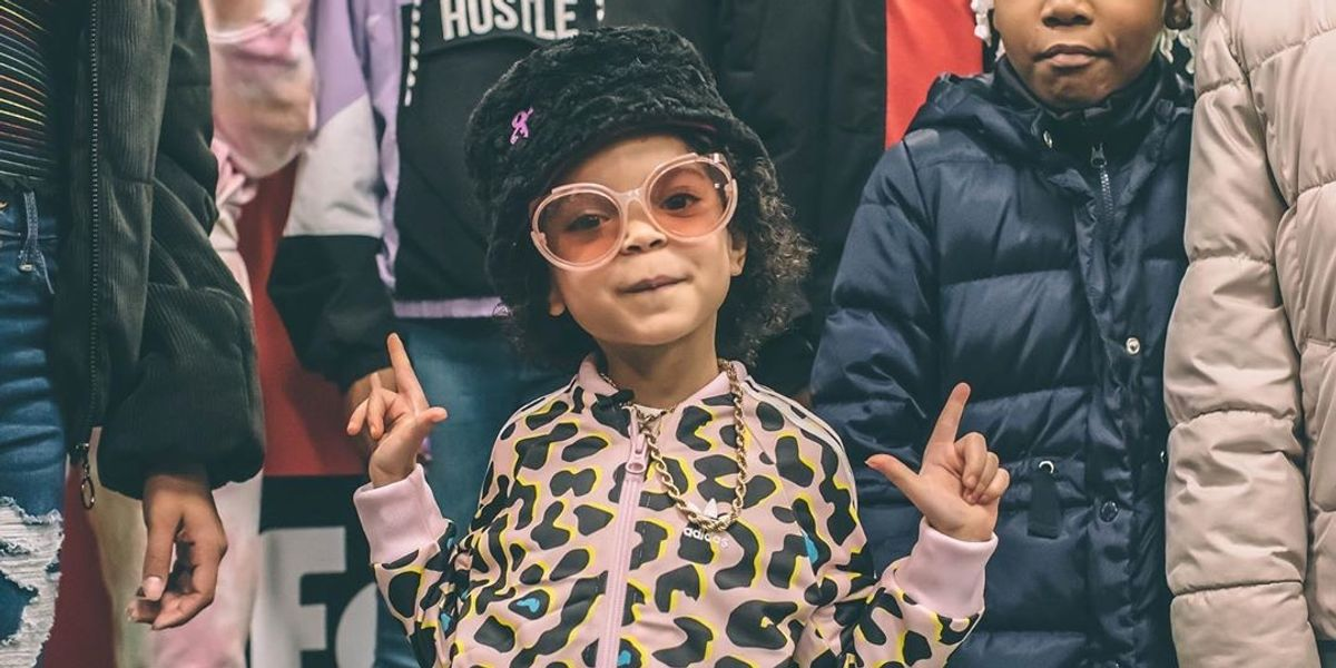 Kim K-Endorsed Baby Rapper ZaZa Drops New Single