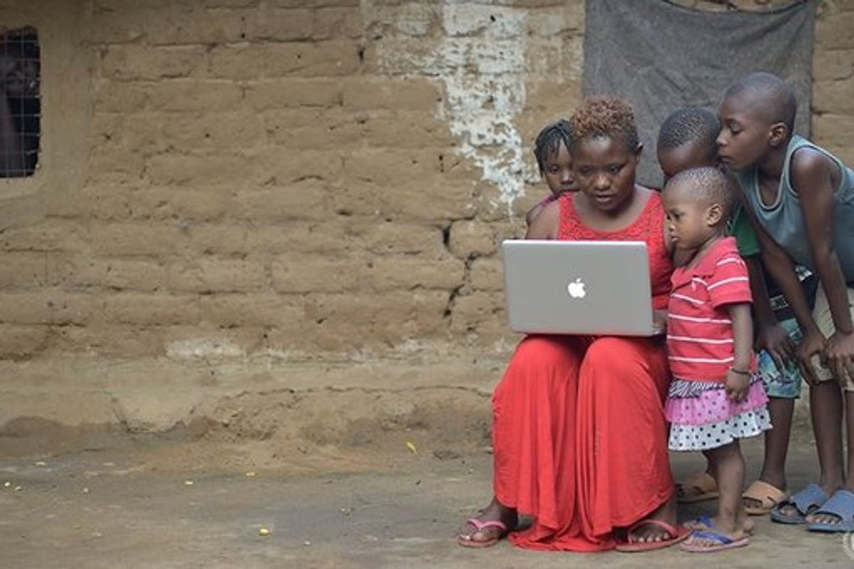 How can we harness technology to create a more sustainable and equitable world?