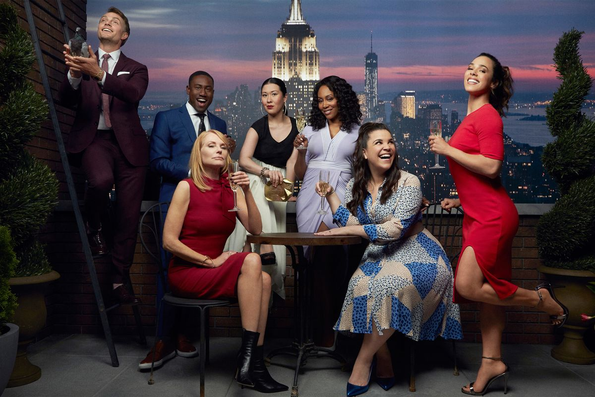 The cast of CBS drama All Rise