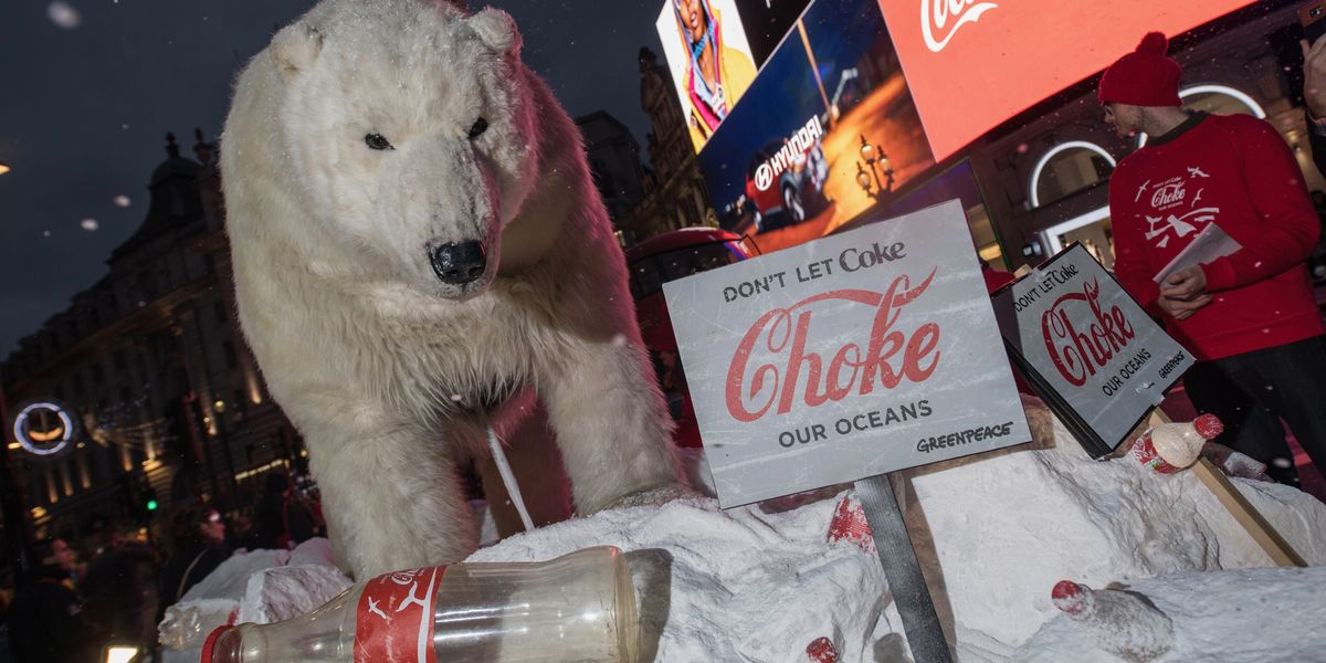 What If Nestlé and Coke Had to Clean up Their Own Plastic Pollution?