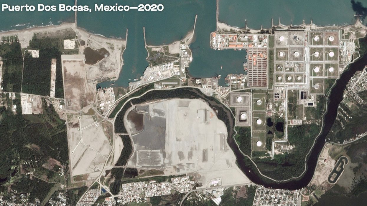 Mexico Is Letting an Oil Company Destroy Protected Mangroves for an $8 Billion Oil Refinery
