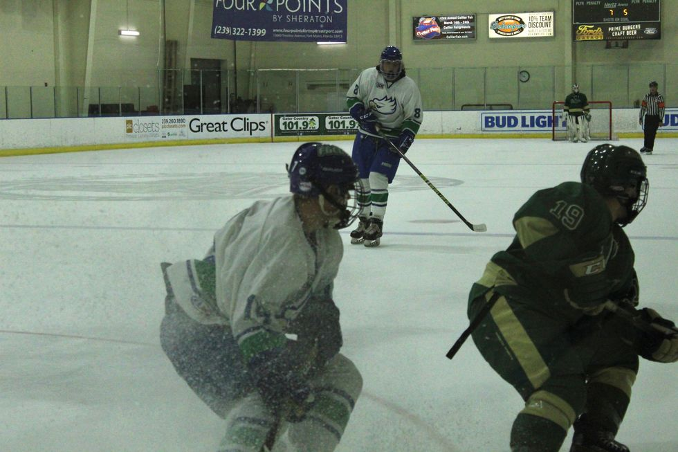 Florida Gulf Coast University May Be Located In Florida, But We Are A Hockey Campus