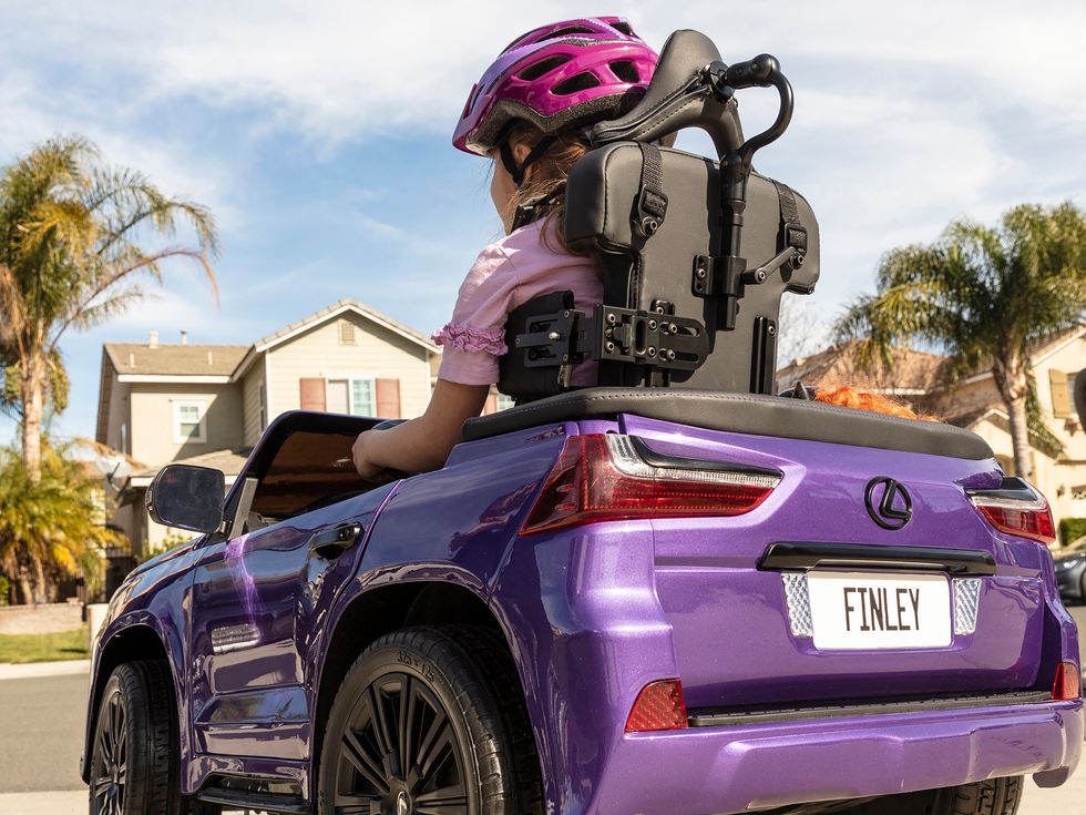 Lexus Cerebral Palsy Foundation custom car