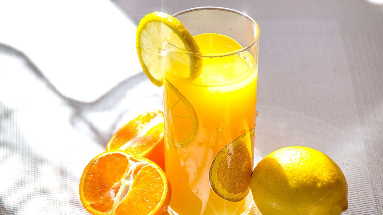 Glass of Orange Juice Best Vitamins and Supplements for Dry Skin
