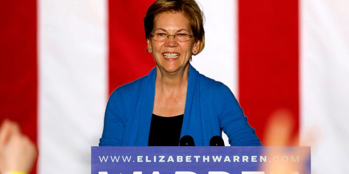 Elizabeth Warren Did the 'Flip the Switch' Challenge