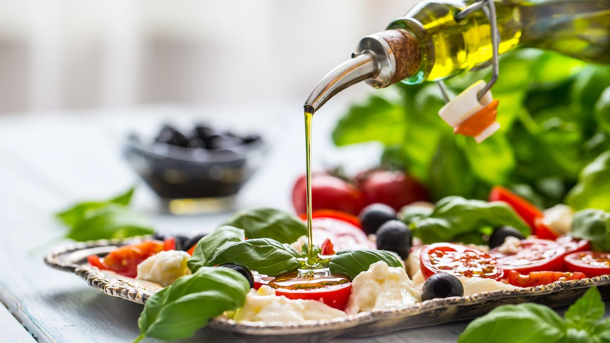 Just a Little Olive Oil a Day Can Help Your Heart
