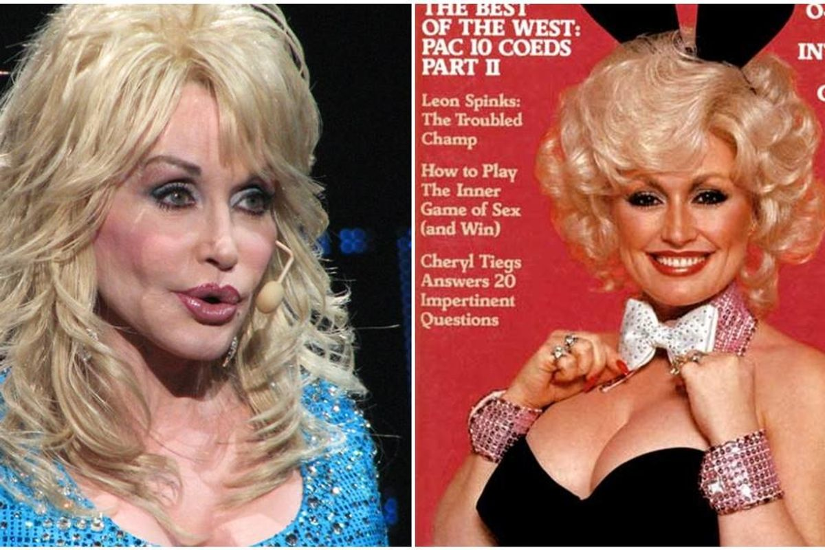 Dolly Parton hopes to celebrate her 75th birthday next year by appearing on the cover of Playboy
