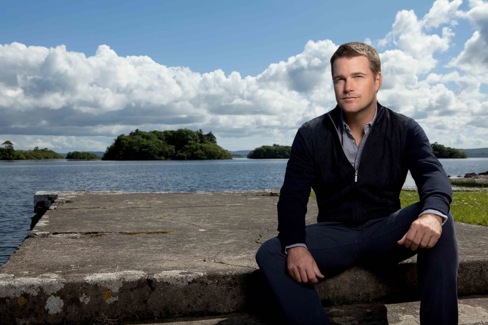 Chris O'Donnell is lovely Ireland.