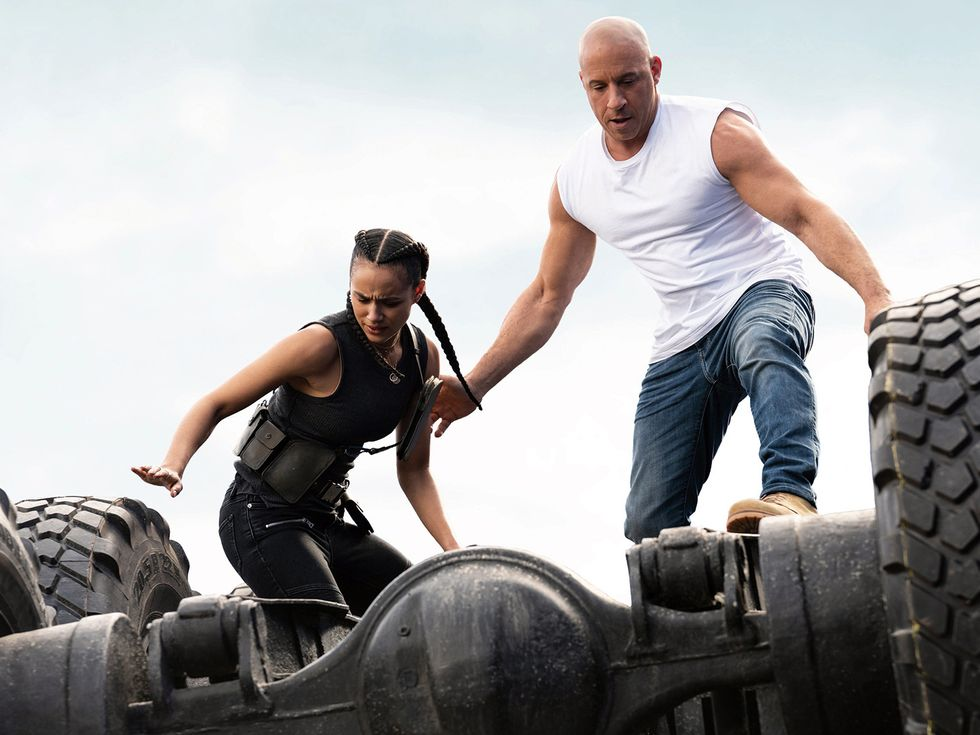 2021 F9 Fast and Furious movie still