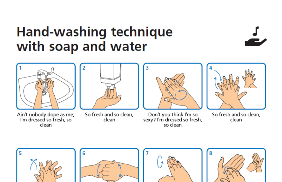 2020: the year everyone learned how to wash their hands