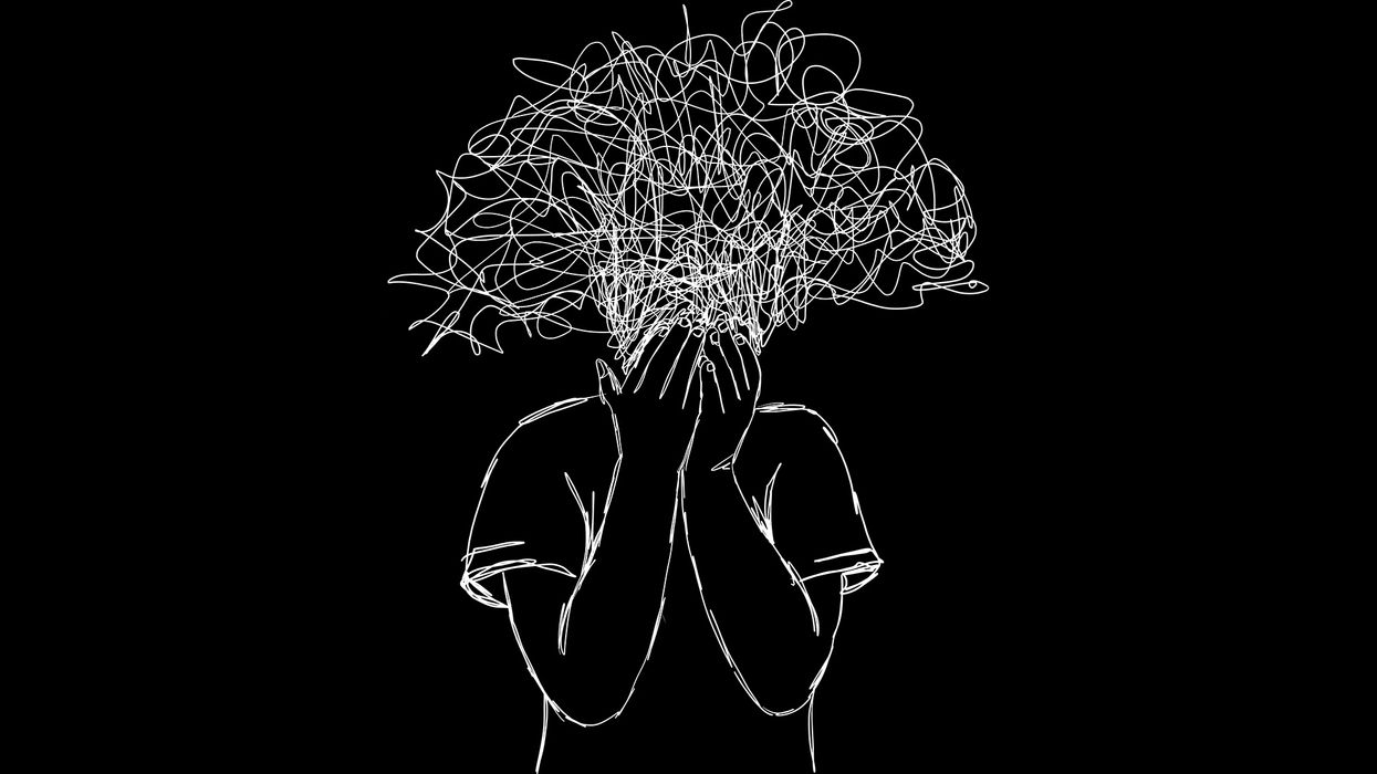 concept of stress self-inflicted stress anxiety