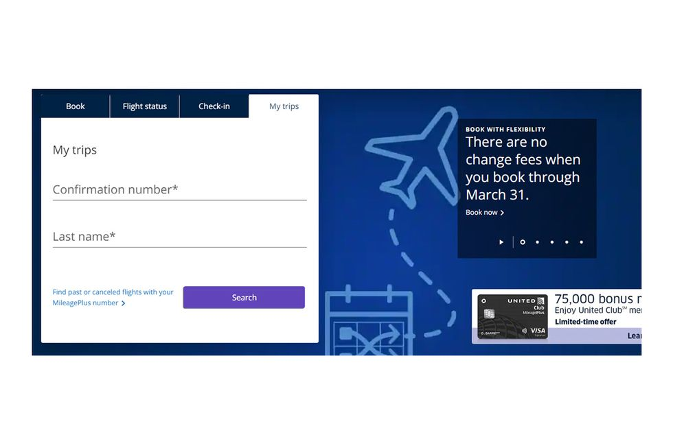 How to Change Your Flight - United Homepage