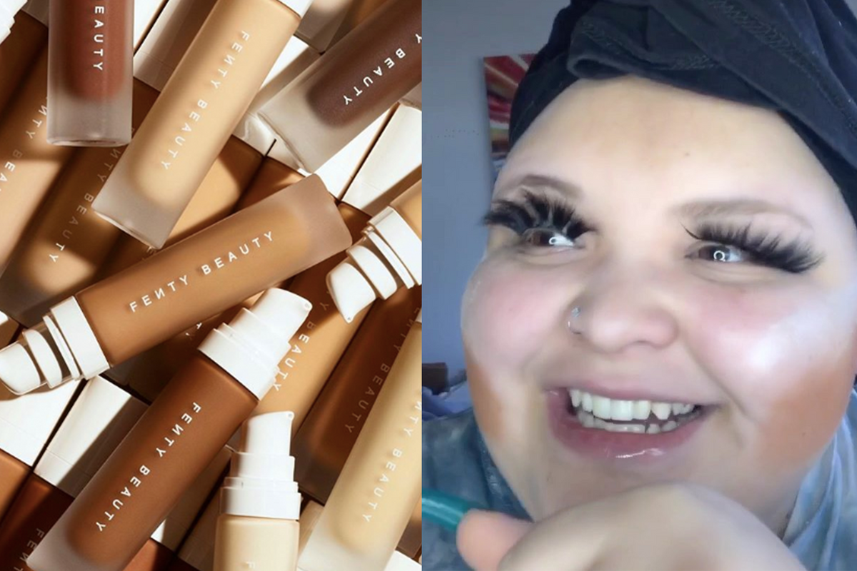 Rosa Makes Her Fenty Beauty Debut