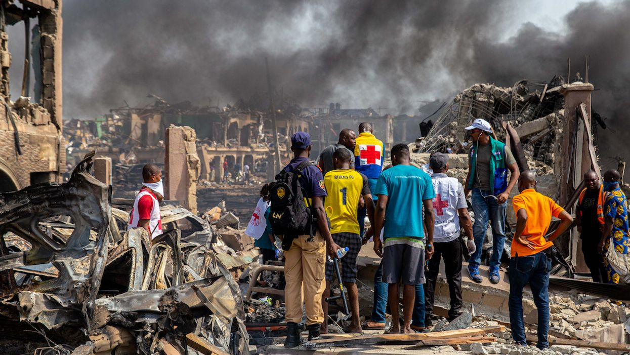 Gas Explosion in Nigeria Leaves 15 Dead, More Than 50 Buildings Damaged