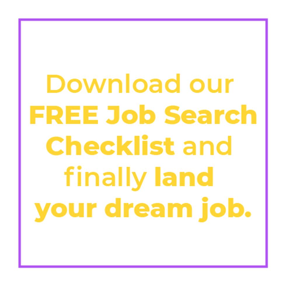 Download Work It Daily\u2019s free job search checklist