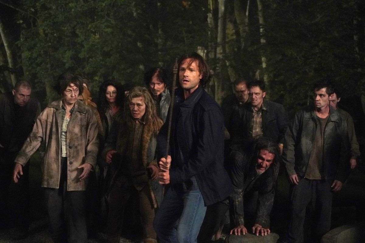 Jared Padalecki in Season 15 of TV show Supernatural.