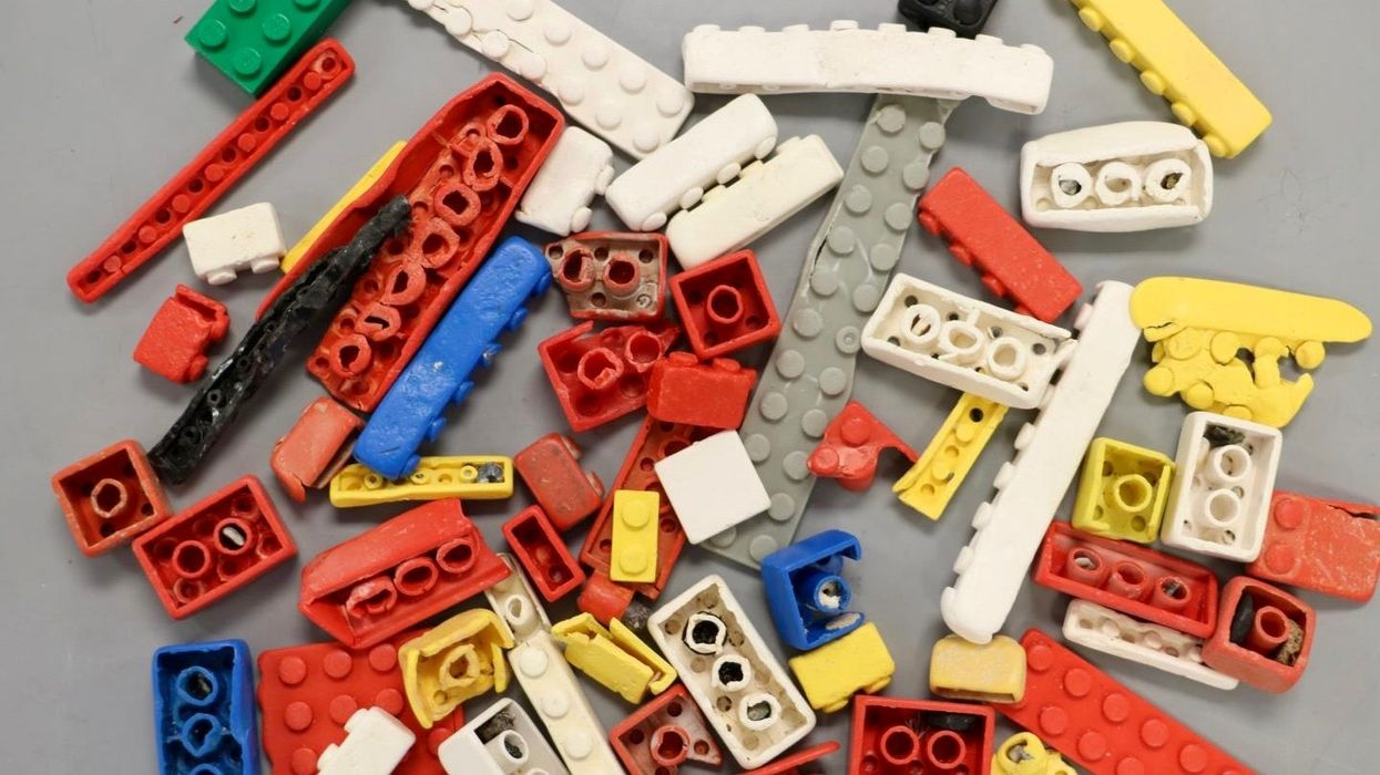 LEGO Bricks Can Survive in Oceans for 1,300 Years, Study Shows