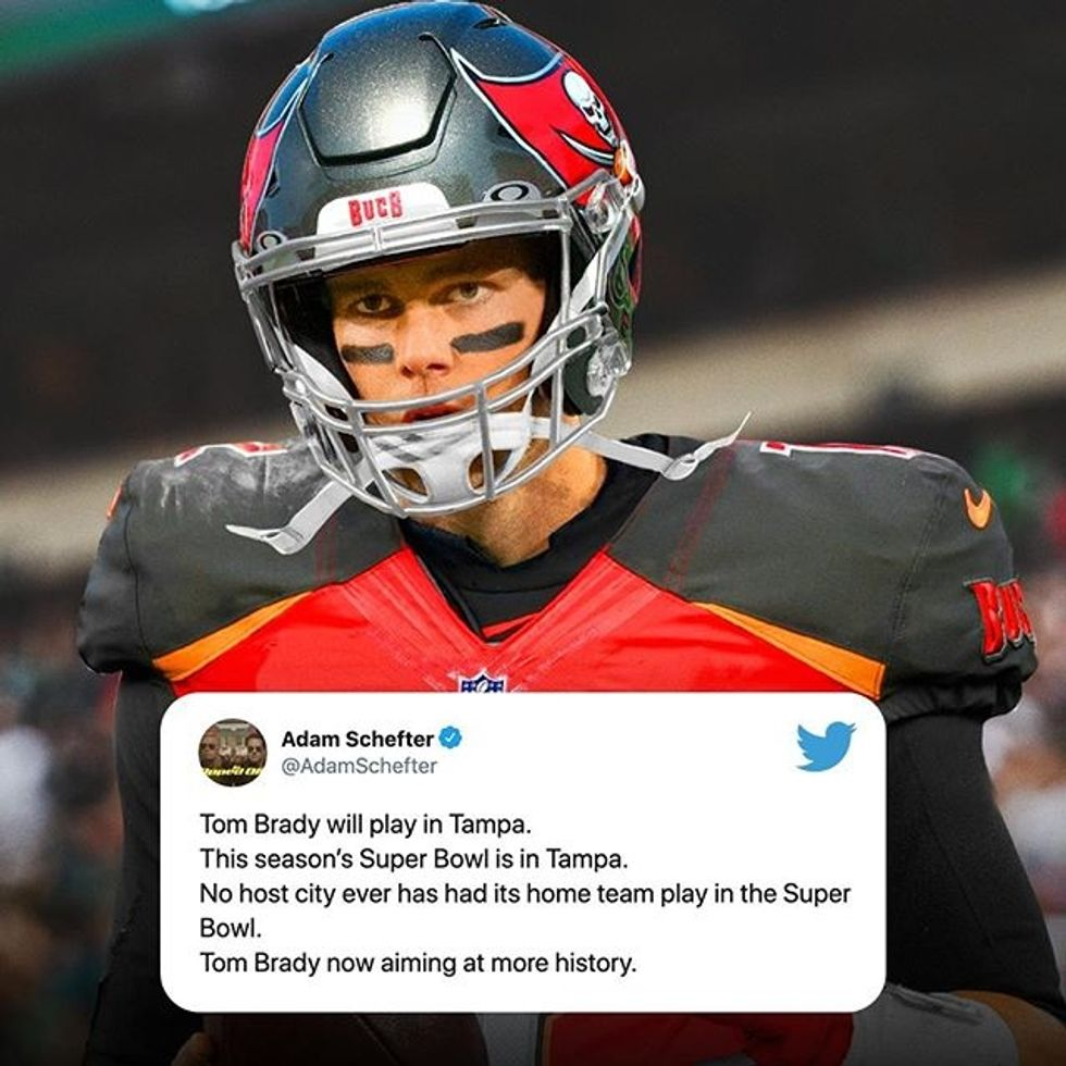 BREAKING: Tom Brady Expected To Sign With Tampa Bay Buccaneers