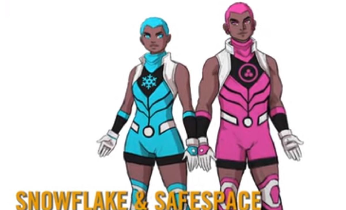 Meet Snowflake and Safespace, Marvel's new superheroes