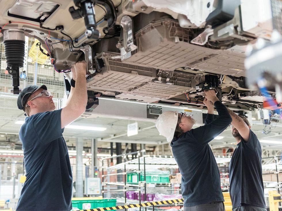 BMW Plant Spartanburg South Carolina