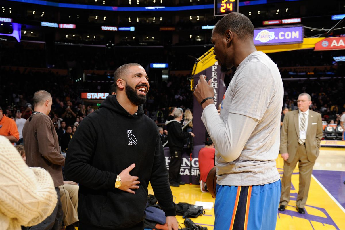 Drake's in Quarantine After Partying With Kevin Durant
