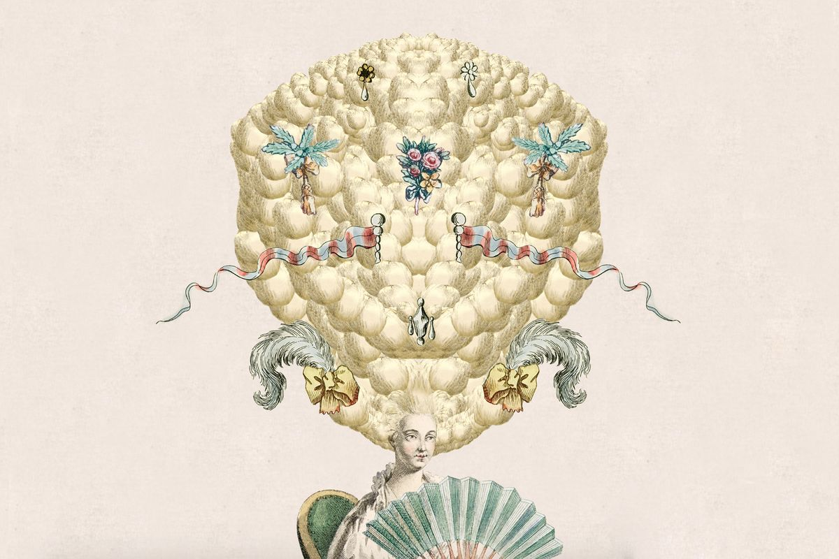 Design 18th Century Wigs While You're Trapped Inside