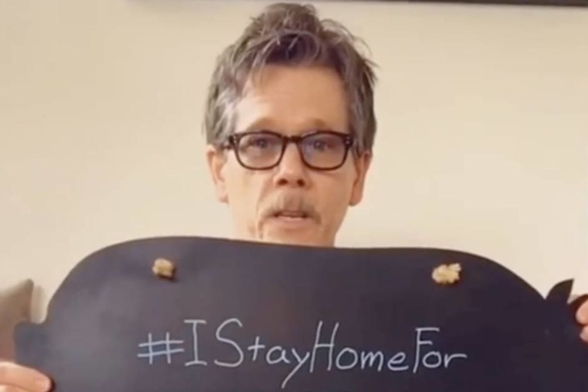 Kevin Bacon is using his 'Six Degrees of Kevin Bacon' fame to promote social distancing